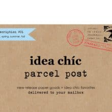 Idea Chic Subscription Stationery Gift Options