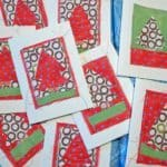 Instructables Christmas Card Sewing