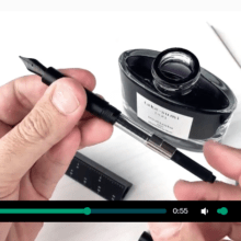 ESCALA scale ruler fountain pen Kickstarter Underway