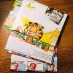 Discovering Vintage Garfield Envelope sets