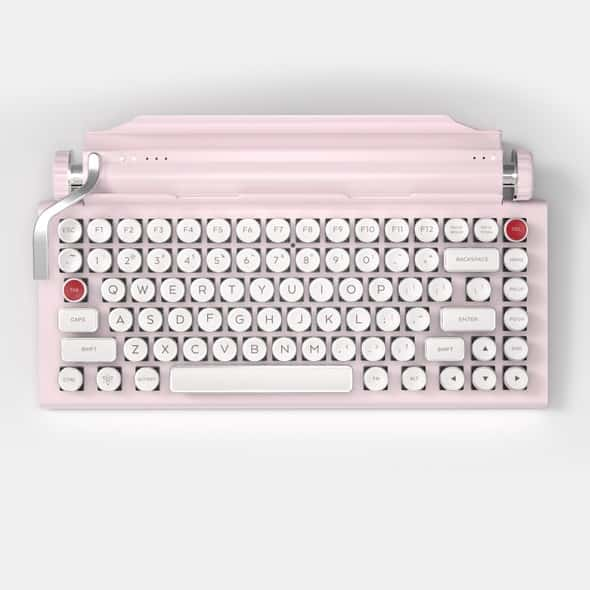 QWERKYWRITER® S COLOR Typewriter Inspired Keyboard