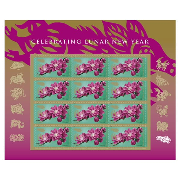 Final stamp in the Lunar New Year series: 2019 Year of the Boar Forever stamp