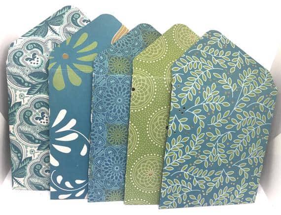 And the Bohemian Style Mini Envelopes Please …