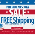 Current Catalog Presidents' Day Sale Free Shipping Any Order