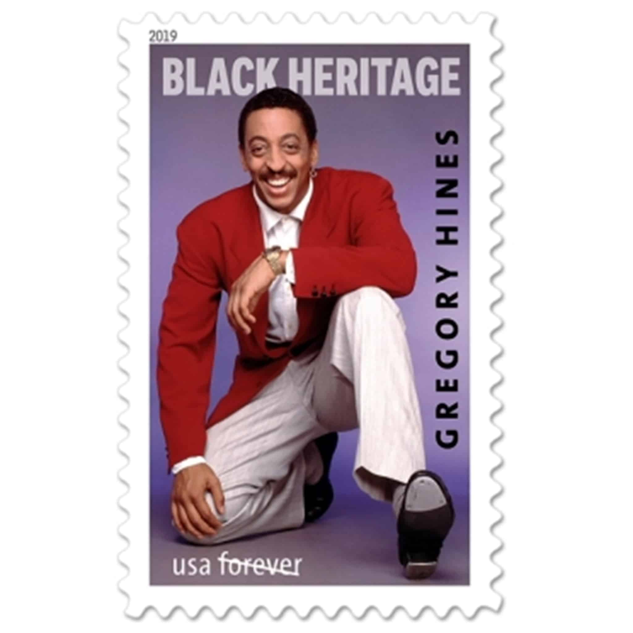 Celebrating Gregory Hines Forever 2019 Stamp