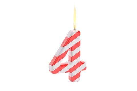 AnchoredScraps Fourth Year Blogging Daily Anniversary