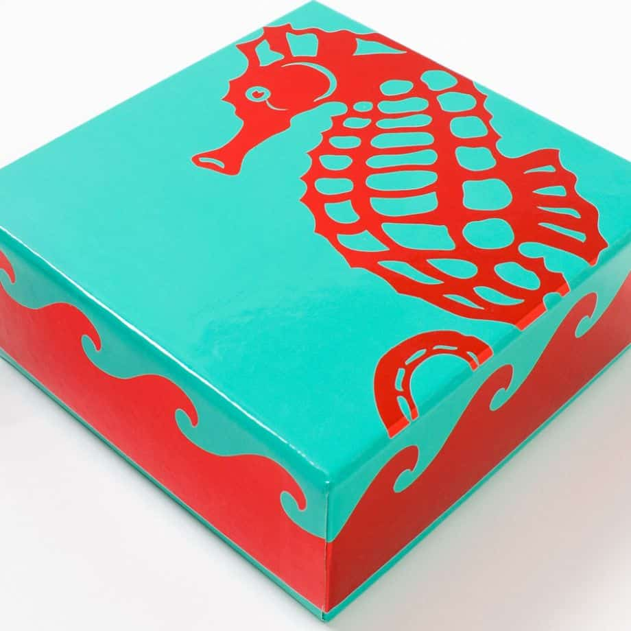 Papyrus Graphic Sea Life Assorted Note Cards Set