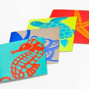 Papyrus Graphic Sea Life Assorted Note Cards