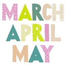 AnchoredScraps March 2019 Daily Blog Recap