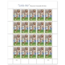 Little Mo USPS Forever Stamp Honors Tennis Champ Maureen Connolly Brinker