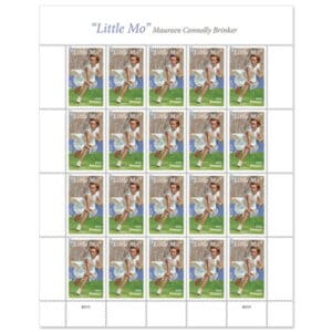Little Mo USPS Forever Stamp Honors Tennis Champ Maureen Connolly