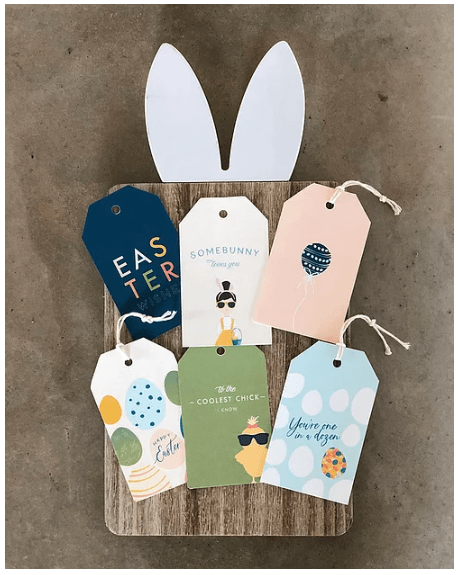 Ginger P Designs Easter Tags Printables
