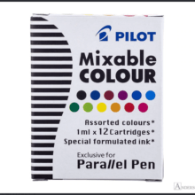 Pilot Parallel Mixable Colour Assorted Pack Ink Cartridges at Anderson Pens