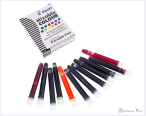 Pilot Parallel Mixable Colour Assorted Pack Ink Cartridges
