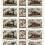 Transcontinental Railroad Stamps