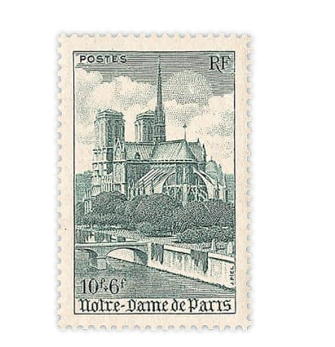 Good Friday 2019, Linn's Stamp News Article Notre Dame Cathedral Stamps, & LAMY Safari Pastel Fountain Pens