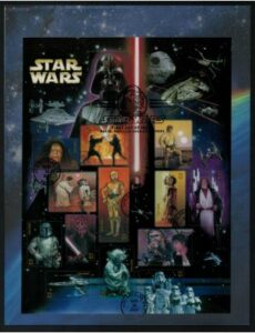 2007 41c Star Wars Fleetwood First Day Cover#4143