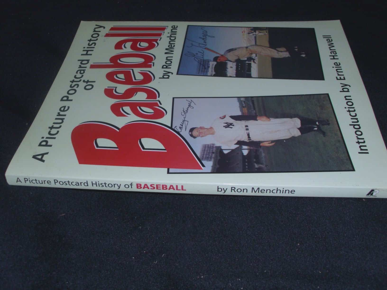 A Picture Postcard History of Baseball by Ron Menchine