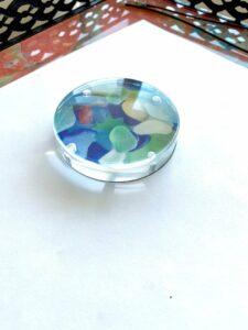 EJMDesigns Seaglass paperweight
