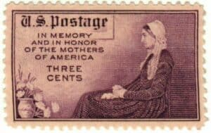 USA-737 1934 3¢ Mothers of America USPS Stamp