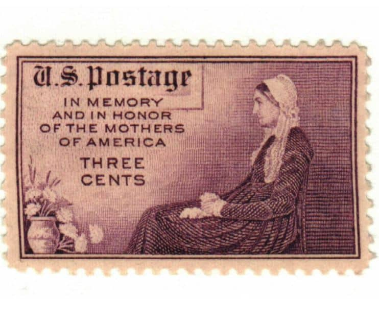 1934 Mothers of America Three Cents Stamp