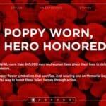 USAA Poppy Wall of Honor