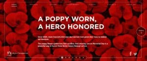 USAA Poppy Wall of Honor