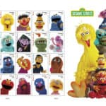 USPS Celebrating Sesame Street 50th Anniversary Forever Stamps June 22, 2019