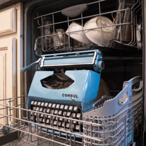 Brian's Blog-A-Ma-Jig Typewriter in Dishwasher Lessons