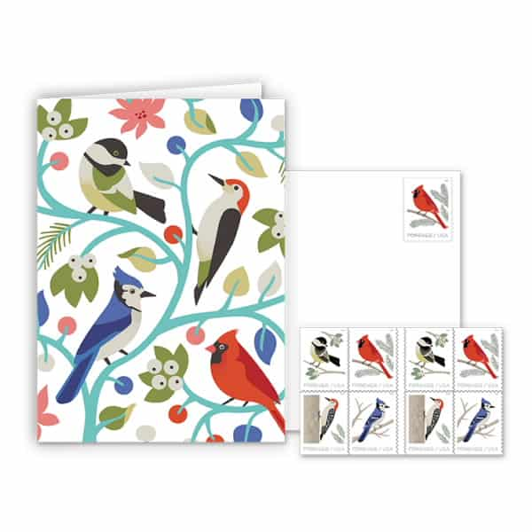 USPS Woodland Birds Notecards