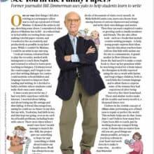 AARP Magazine Featuring MakeBeliefsComix Creator Bill Zimmerman