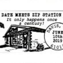 Date Meets Zip Pictorial Postmark 61019