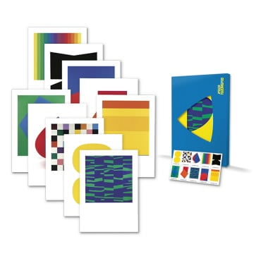 Ellsworth Kelly Oversized Postcard Set USPS