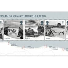 Linn's Stamp News – Great Britain's Royal Mail Commemorating the 75th Anniversary of D-Day