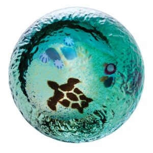Caithness Glass Paperweight ocean-seabed-turtle_1