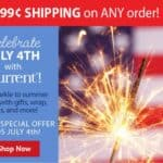 Current Catalog July 4th Shipping Special