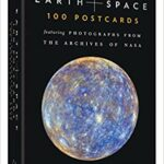 Earth and Space 100 Postcards Book Featuring Photographs from Nasa Archives