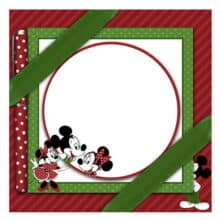 USPS Mickey & Minnie Mouse Holiday Writing Stationery