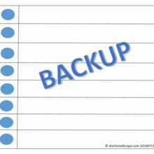 Reminder on Making Time for Backups