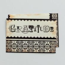 DaySpring Gratitude Antique Lettering Thank Notes