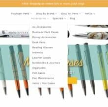 Enjoying Browsing the Goldspot Pens Accessories Offerings