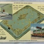 Vintage Advertising Postcard Direct Mattress Co