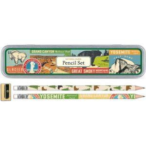 Cavallini National Parks Pencil Set