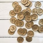 Copper Eucalyptus Self Adhesive Wax Seals