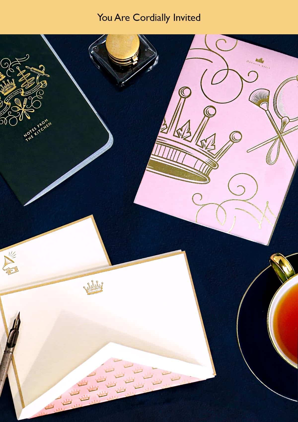 Crane Downton Abbey Stationery Collection