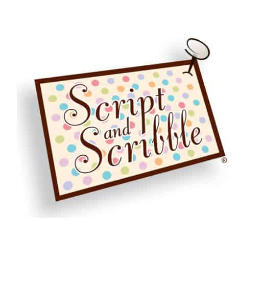 Script and Scribble Personalized Stationery