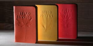 Field Notes Autumn Trilogy Memo & Notebooks at Pen Chalet
