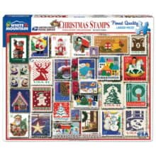 Christmas Stamps Puzzle 2019 USPS