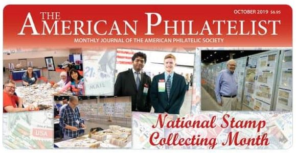 APS Celebrating National Stamp Collecting Month 2019