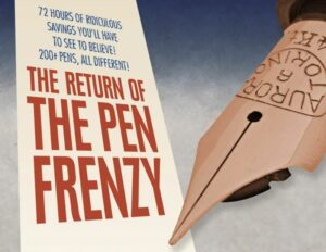 Fountain Pen Hospital Pen Frenzy Returns